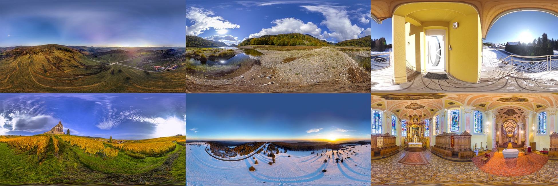 Photo 360 équirectanglaire
